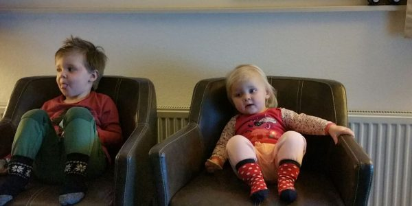 Twee zieke kids