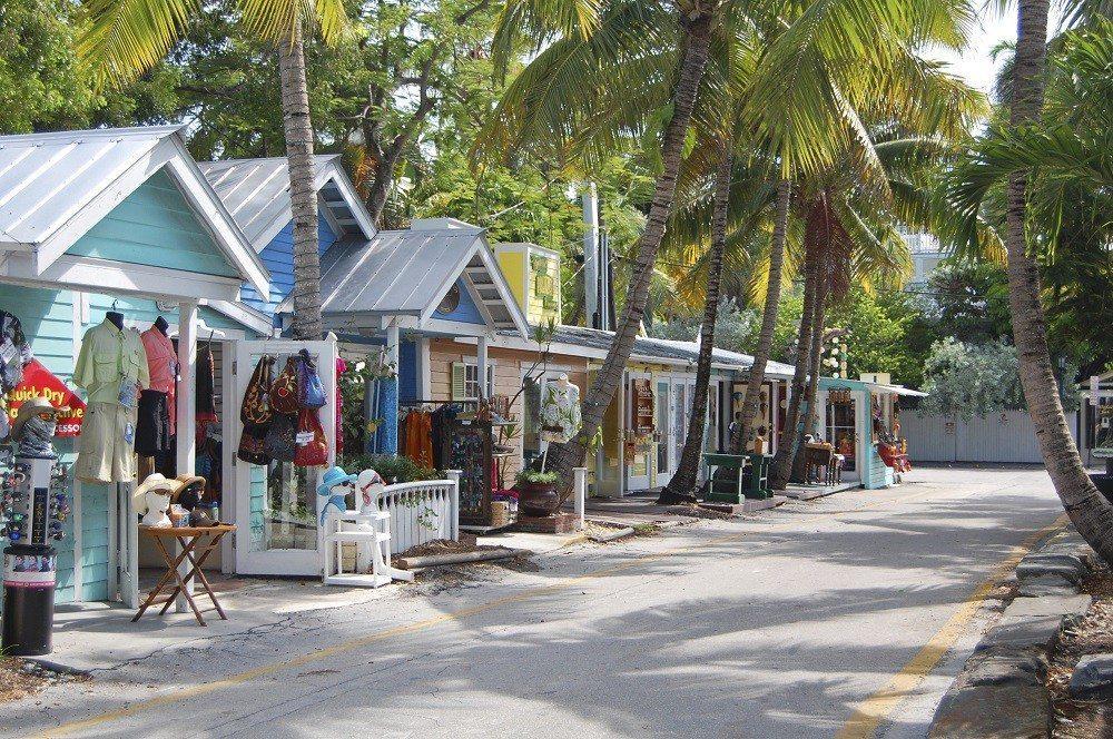 Florida met kids: Street in key west, florida