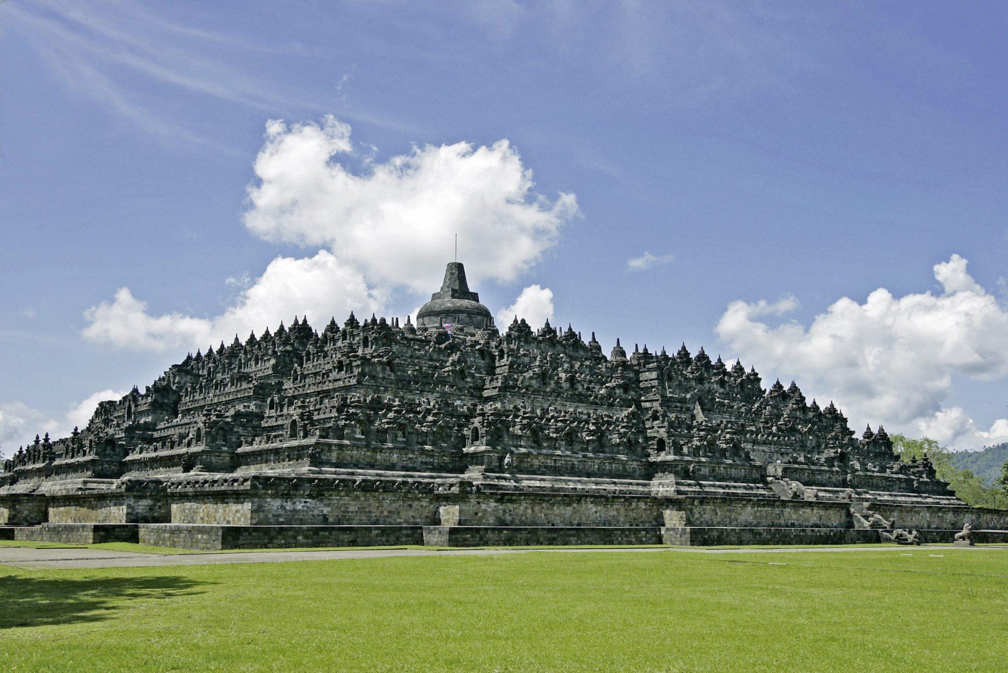 Indonesie met kinderen: Borobudur, Yogyakarta