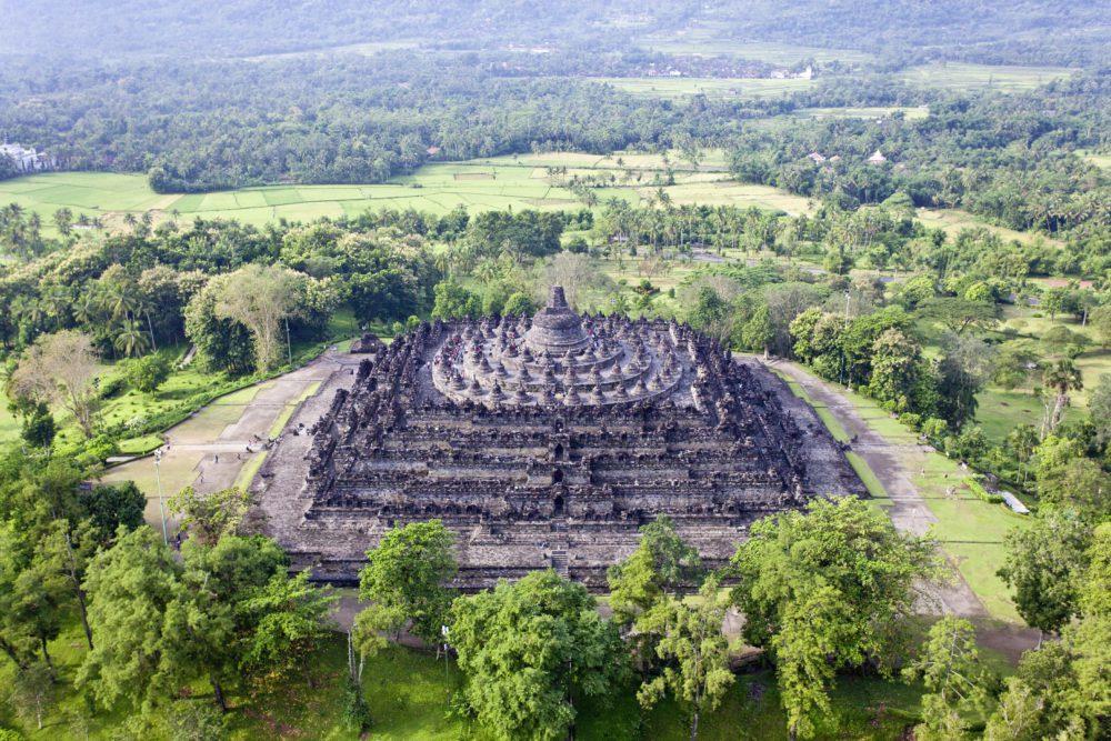 Indonesie met kinderen: Borobudur, Yogyakarta (5)-min