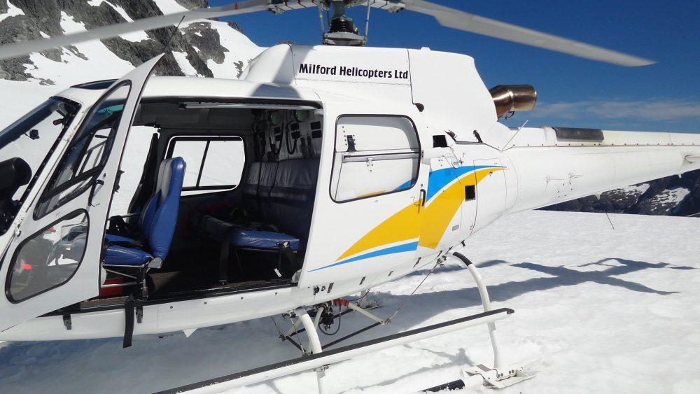 Nieuw Zeeland met kinderen: helikopter tour