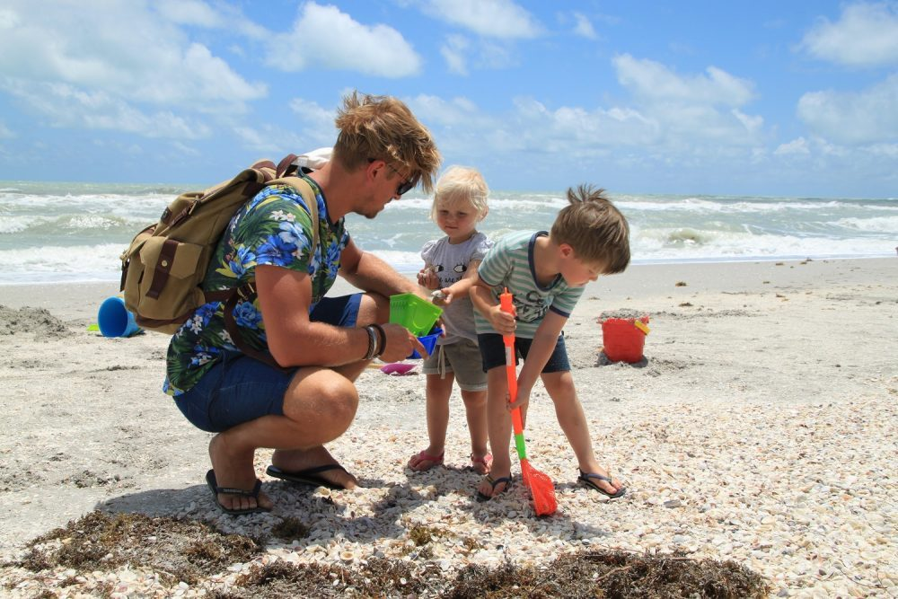 Sanibel Island with kids