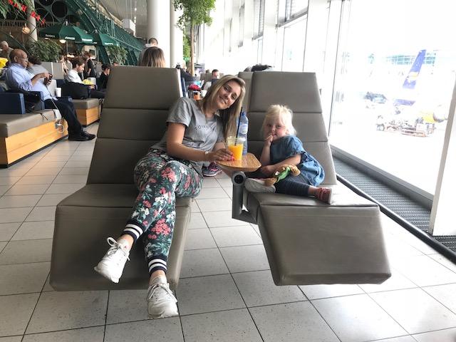 Genua met kinderen