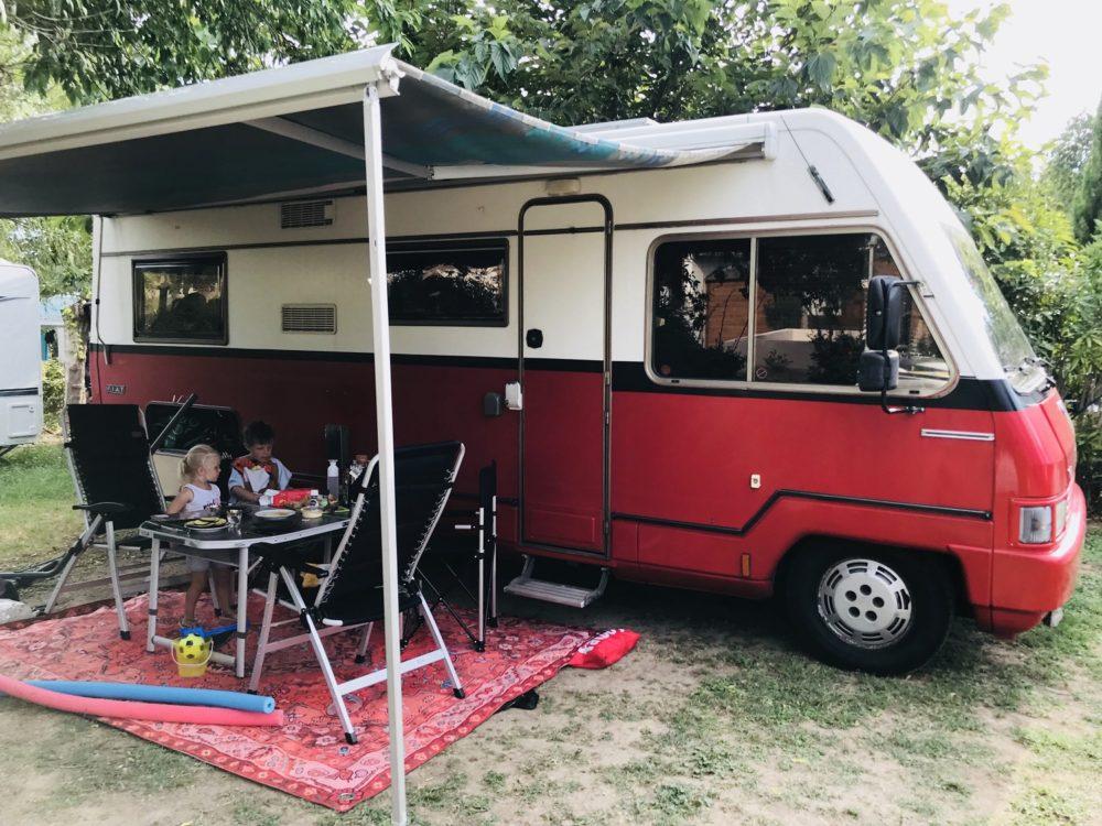 kosten van een campervakantie in Frankrijk en Spanje