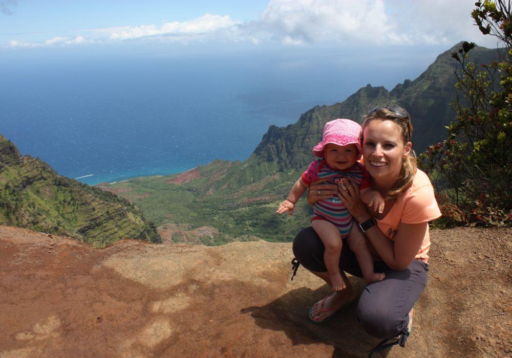 Hawaii met een baby