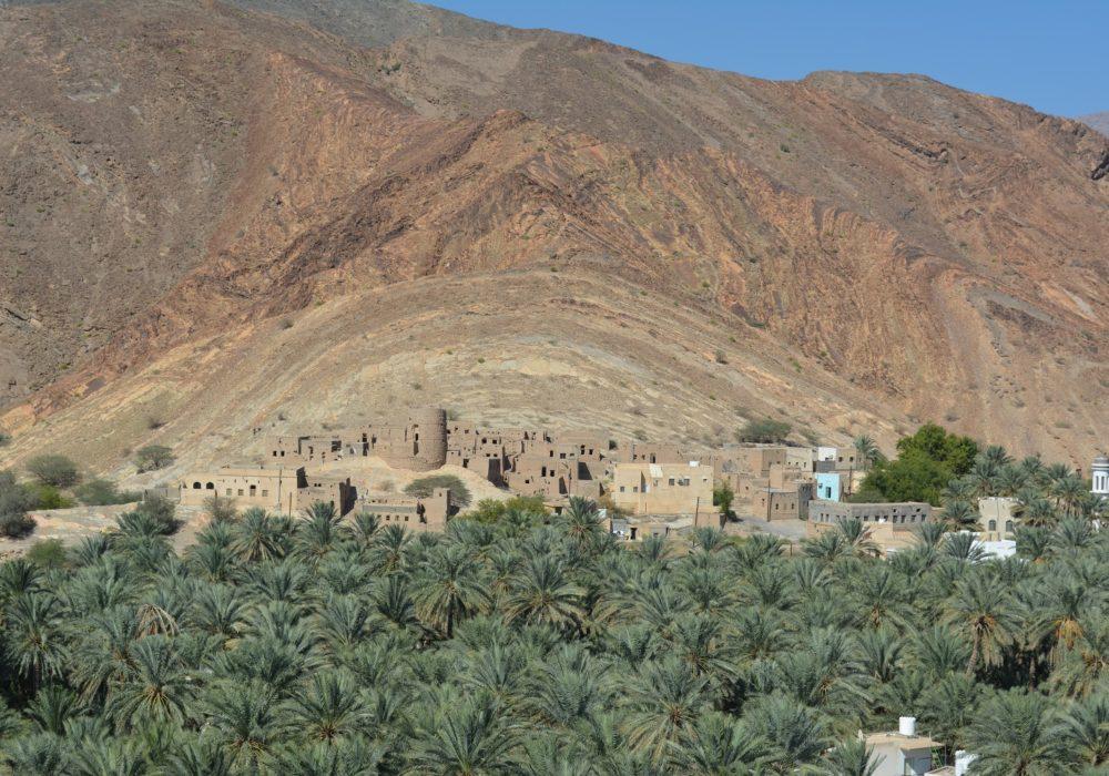 Oman met kinderen