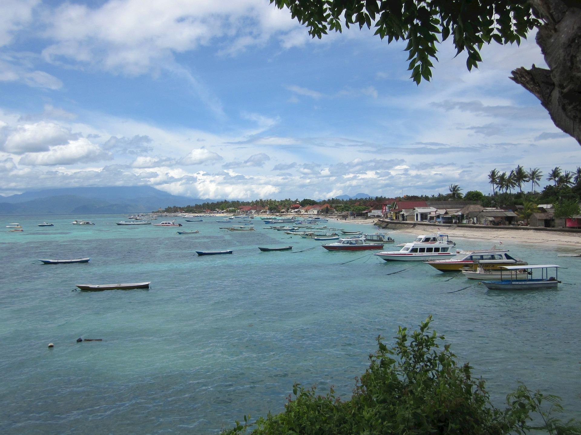 Lombok met kinderen