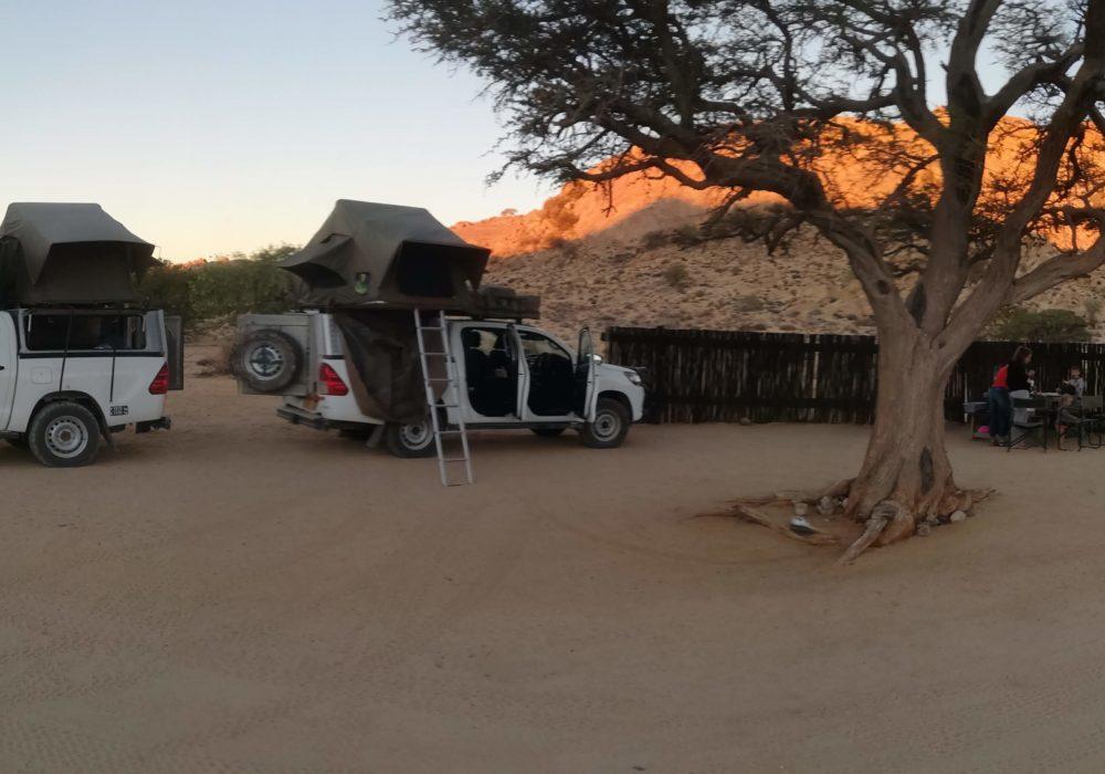 Kids Love Travel: 4x4 door Namibië
